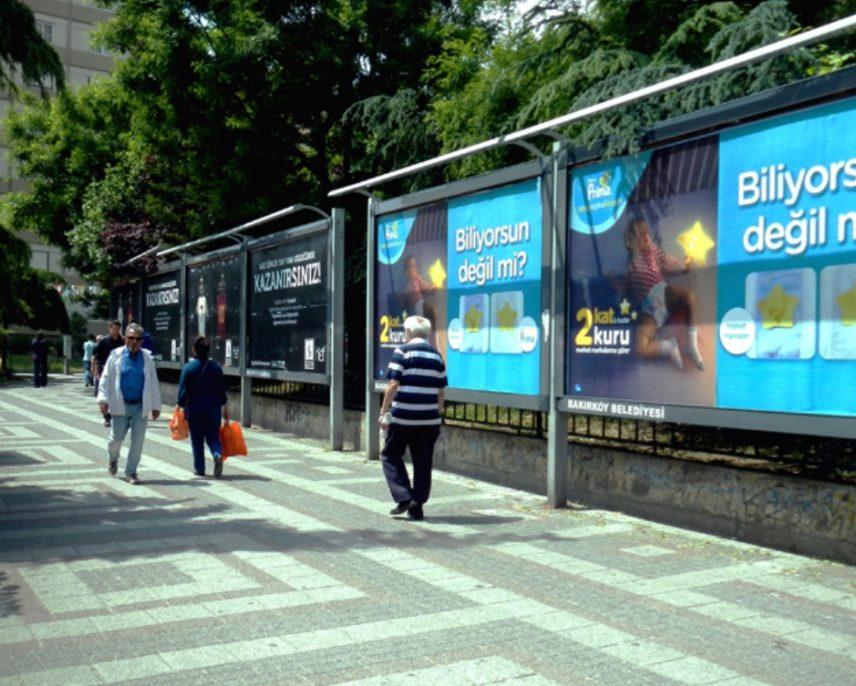 Billboard baskı ölçüleri