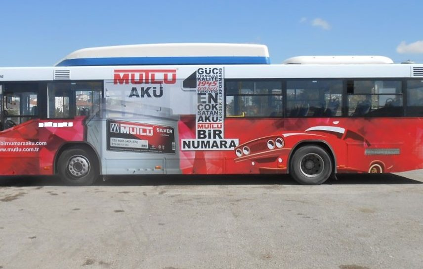 iett otobüs reklam giydirme fiyatları
