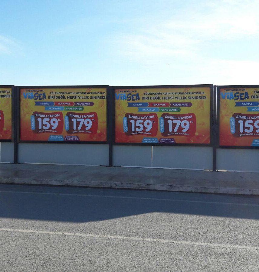 İstanbul billboard kiralama fiyatları